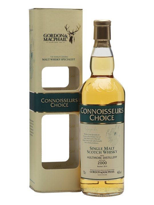 Aultmore 2000 / Bot. 2014 / Connoisseurs Choice Speyside Whisky