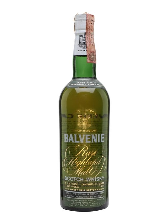 Balvenie 6 Year Old / Made Specially for Ladies Speyside Whisky