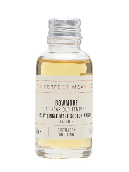 Bowmore Tempest 10 Year Old Sample / Batch 6 Islay Whisky