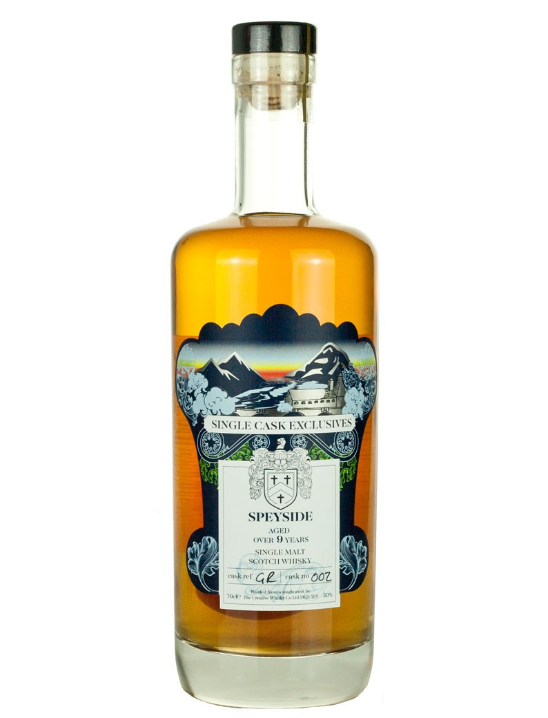 Glenrothes 9 Year Old Creative Whisky Exclusives Speyside
